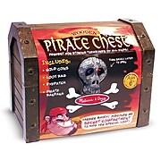 "Melissa & Doug Pirate Chest, 9.75"" x 7.5"" x 7.3"", (2576)"