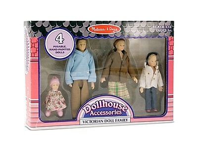 Melissa & Doug Victorian Doll Family, 10.6