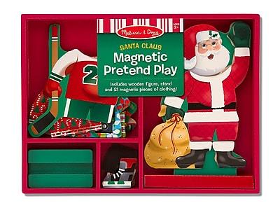 Melissa & Doug Santa Magnetic Dress-Up, 12