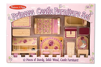 Melissa & Doug Princess Castle Furniture Set, 16.15