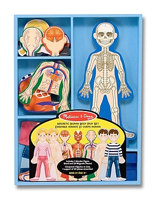Melissa & Doug Magnetic Human Body Play Set 11.7