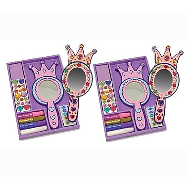 Melissa & Doug Princess Mirror - DYO 2/Pack, 9.5