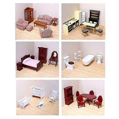 Melissa & Doug Victorian Dollhouse Furniture Bundle, 23