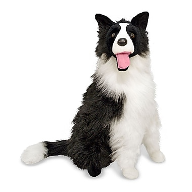 Melissa & Doug Border Collie - Plush, 20