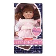 """Melissa & Doug Brianna - 12"""" Doll, 12.4"""" x 7.2"""" x 4.7"""", (4883)"""