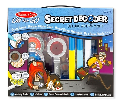 """""Secret Decoder Deluxe Activity Set 12"""""""" x 10.5"""""""" x 2.25"""""""" (5238)"""""" 1904403"