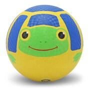 Melissa & Doug Scootin' Turtle Kickball, Durable Rubber, Colorful, (6033)