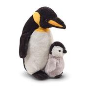 "Melissa & Doug Webber Penguin with Baby, 15"" x 5"" x 4.75"", (7650)"