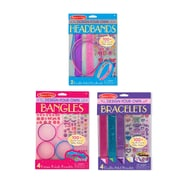 Melissa & Doug DYO Girls Accessories Bundle, Bracelets, Headbands and Bangles, 9.7 x 6.9 x 0.8 (8108)