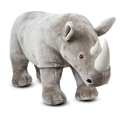 Melissa & Doug Rhinoceros, Plush, 31 x 18.5 x 12.5 (8832)