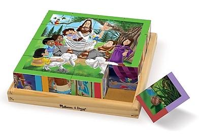 Melissa & Doug New Testament Cube Puzzle, 7.9