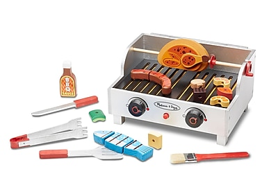 Melissa & Doug Rotisserie & Grill Barbecue Set, 12 x 10 x 3 (9269) 1904126