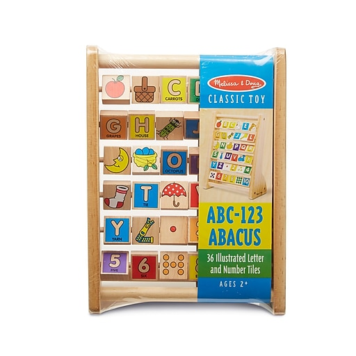 "Shop Staples for Melissa & Doug ABC-123 Abacus, 12.7"" x 9 ..."
