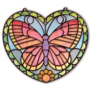 "Melissa & Doug Stained Glass - Butterfly, 11.25"" x 10.9"" x 0.7"", (9295)"