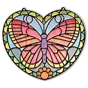 """Melissa & Doug Stained Glass - Butterfly, 11.25"""" x 10.9"""" x 0.7"""", (9295)"""