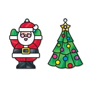 """Melissa & Doug Stained Glass - Ornaments, 10.75"""" x 8.1"""" x 0.7"""", (9298)"""