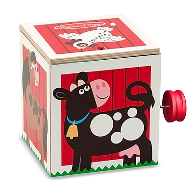 Melissa & Doug Wooden Jack in the Box, 8.65