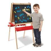 "Melissa & Doug Deluxe Easel / Magnetic Boards, 28.75"" x 24.7"" x 5.75"", (9336)"