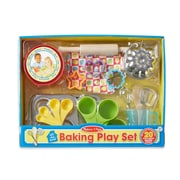 "Melissa & Doug Baking Play Set 16.2"" x 12.2"" x 3.2"" (9356)"