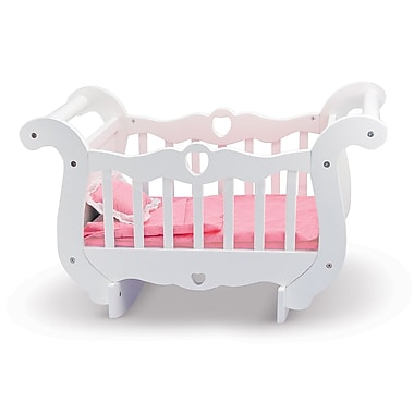 Melissa & Doug Wooden Doll Crib, 23.65
