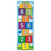 Hop & Count Hopscotch Rug,11 x 10.5 x 6.5,(9402)