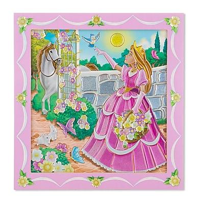 Peel & Press Sticker by Number - Princess,16.75 x 10.65 x 0.6, (9430)