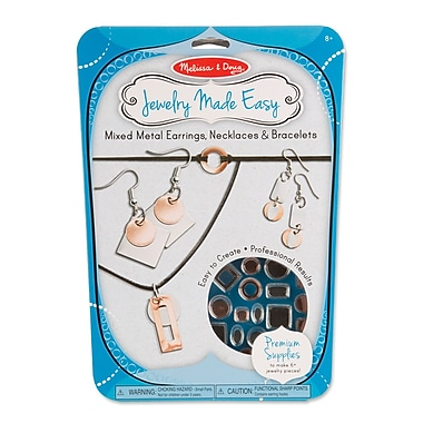 Melissa & Doug Mixed Metal Earrings, Necklaces & Bracelets, 11.65
