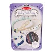 "Melissa & Doug Semiprecious Bead Bracelets 12"" x 11.2"" x 1.1"" (9475)"