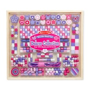 "Melissa & Doug Deluxe Collection - Wooden Bead Set, 10"" x 7.2"" x 1.2"", (9493)"