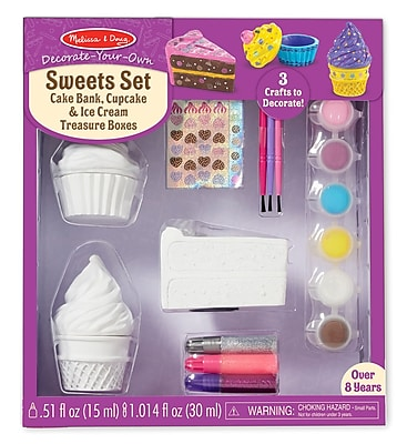 Melissa & Doug DYO Sweet Set, 12 x 10.25 x 3.5 (9535)