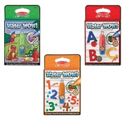 "Melissa & Doug Water Wow Bundle - Animals, Alphabet & Numbers, 10"" x 7"" x 2.4"", (9845)"