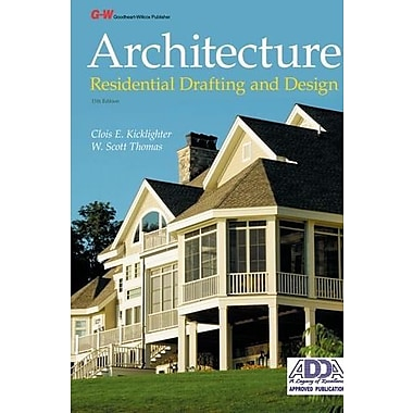 Architecture: Residential Drafting and Design, New Book (9781619601840)