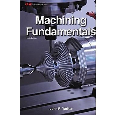 Machining Fundamentals Workbook, New Book (9781619602144)