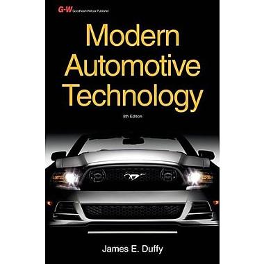 Modern Automotive Technology Workbook, New Book (9781619603752)