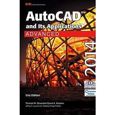 AutoCAD and Its Applications Advanced 2014, New Book (9781619604476)