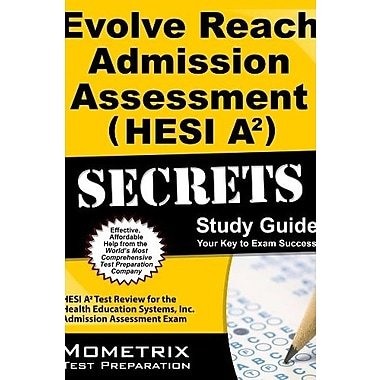 Evolve Reach Admission Assessment (9781621201502), New Book