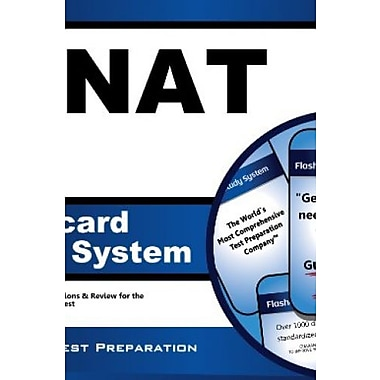 P-NAT Flashcard Study System: P-NAT Test Practice Questions & Review for the Pre-Nursing Assessment Test (9781627338998)