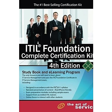 Itil Foundation Complete Certification Kit - Study Book and eLearning Program - 4th edition, New Book (9781743331361)
