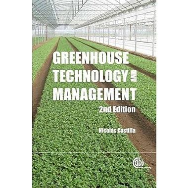 Greenhouse Technology and Management, New Book (9781780641034)