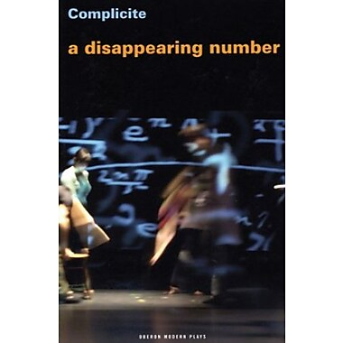 A Disappearing Number (Oberon Modern Plays), New Book (9781840028300)