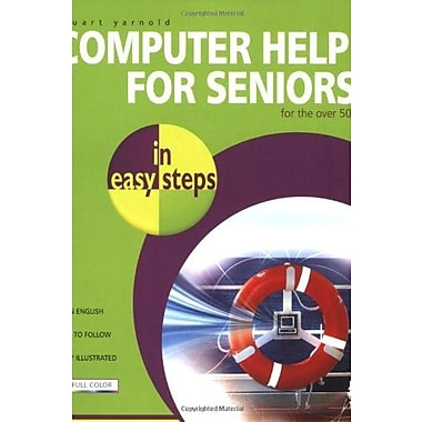 Computer Help for Seniors in Easy Steps, New Book (9781840783452)
