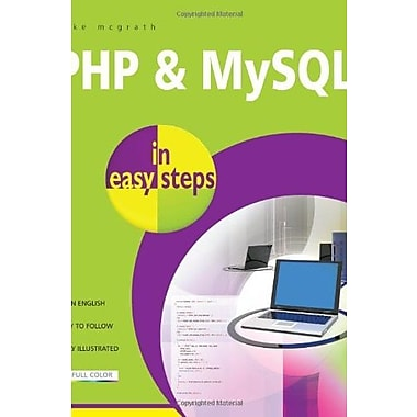 PHP and MySQL in Easy Steps, New Book (9781840785371)