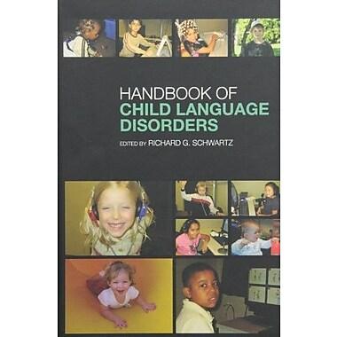 Handbook of Child Language Disorders, New Book (9781841694337)
