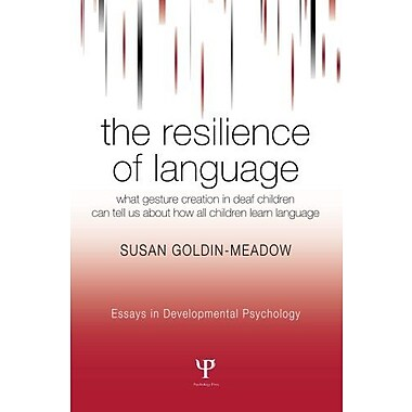 The Resilience of Language, New Book (9781841694368)