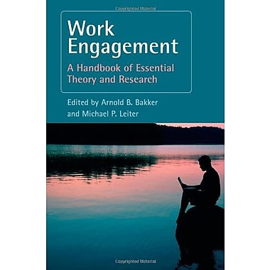 Work Engagement: A Handbook of Essential Theory and Research, New Book (9781841697369)