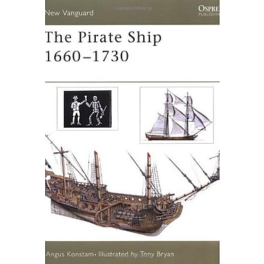 The Pirate Ship 1660-1730 (New Vanguard), New Book (9781841764979)