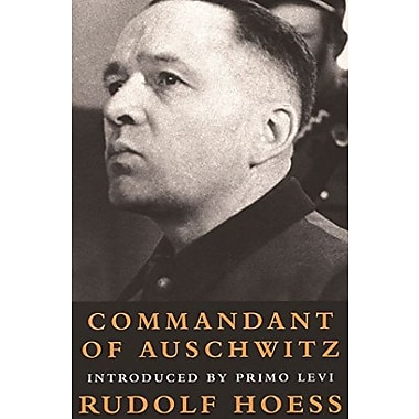 Commandant of Auschwitz : The Autobiography of Rudolf Hoess, New Book (9781842120248)
