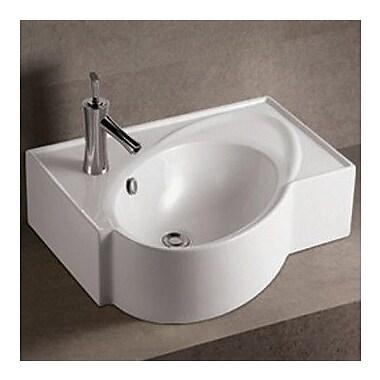 Whitehaus Collection Isabella Speciality Vessel Bathroom Sink w/ Overflow