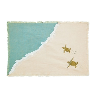 Rightside Design I Sea Life Placemat (Set of 4)