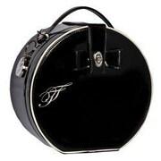 ZallZo Designer Hat Box Tool Kit; Black